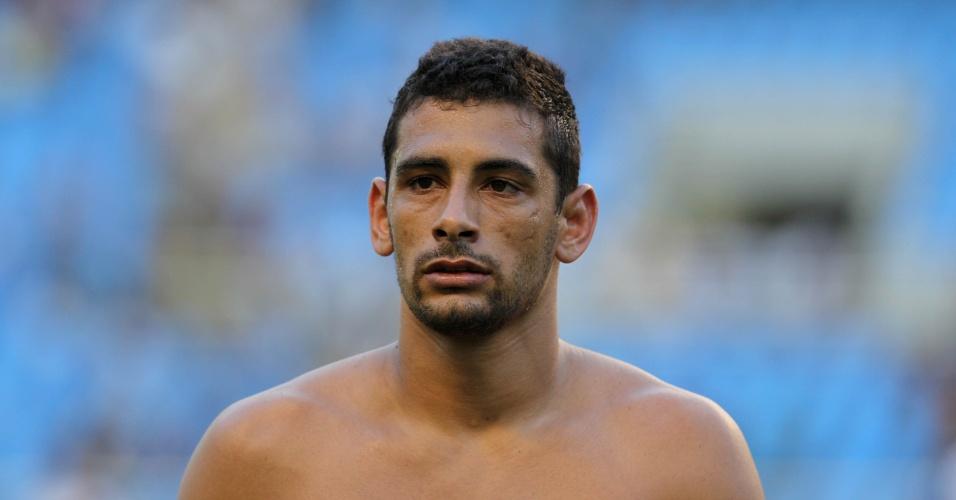 Diego Souza lamenta após derrota do Vasco para o Fluminense