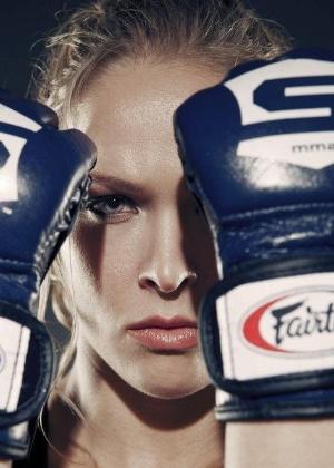 Ronda Rousey saiu do judô e teve uma ascensão meteórica no MMA