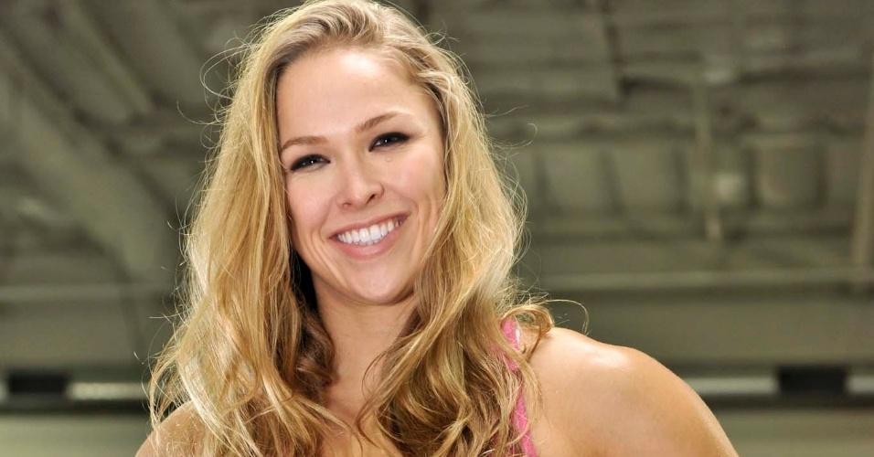 Aos 25 anos, Ronda Rousey saiu do judô e teve uma ascensão meteórica no MMA