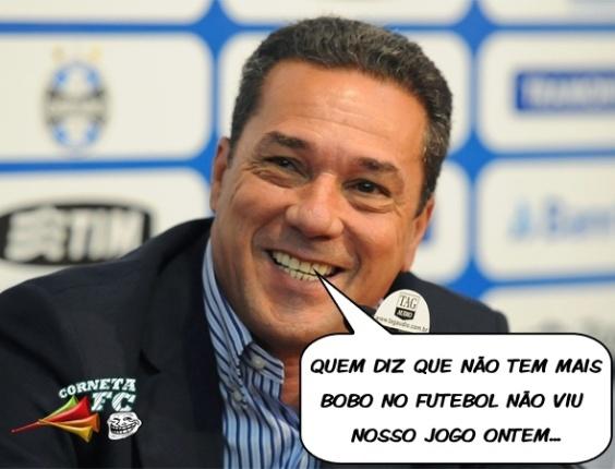 Corneta FC: Quem diz que não tem mais bobo no futebol não viu o jogo do Grêmio
