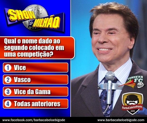 Corneta FC: Silvio Santos também