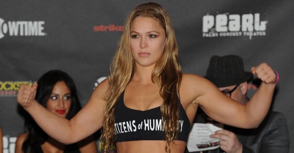 Norte-americana Ronda Rousey tem 25 anos e tem quatro vitórias em quatro lutas pelo Strikeforce