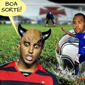 Corneta FC: Alecsandro sofre com a maldição de Deivid