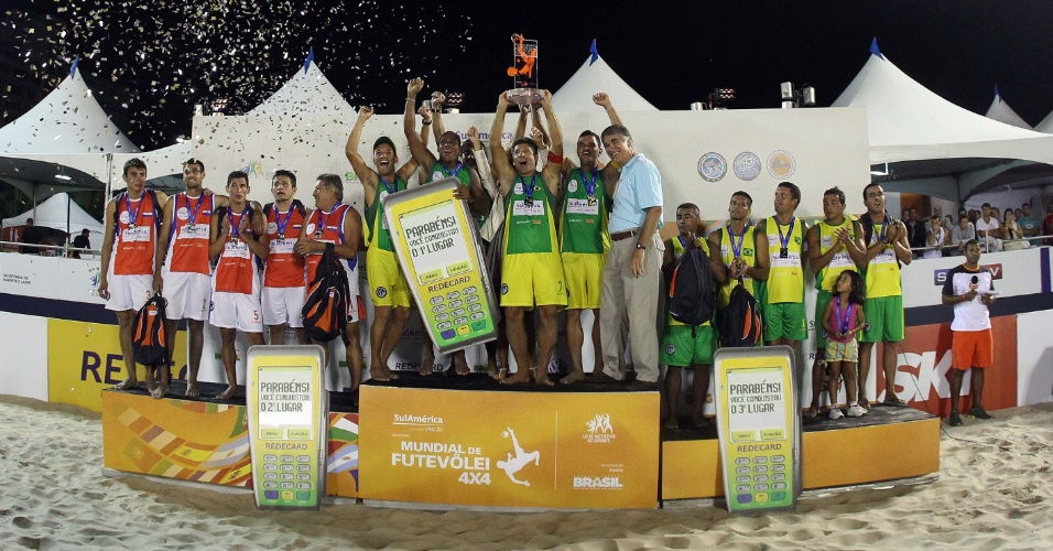 Time de Renato Gaúcho foi campeão mundial de futevôlei 4x4