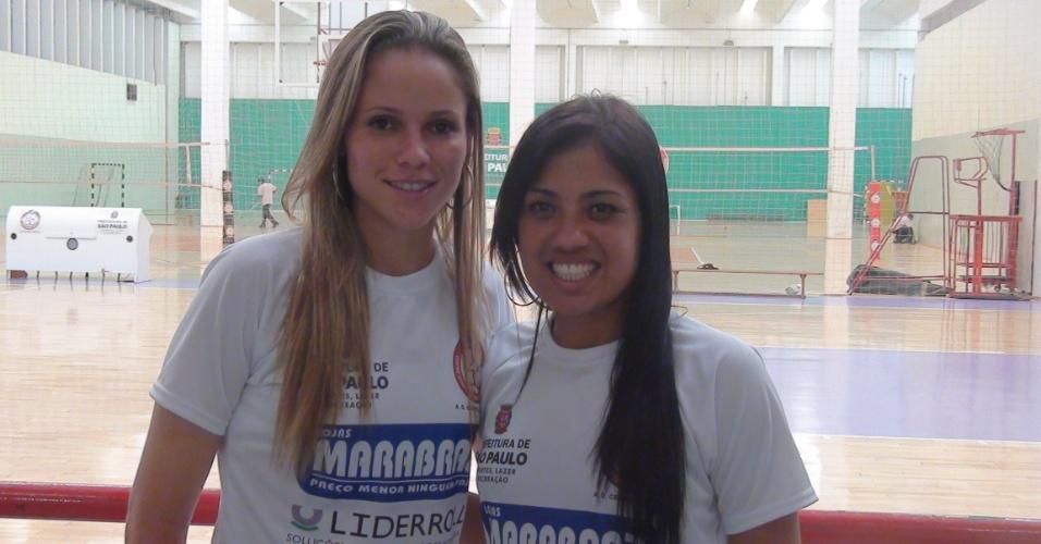 As ex-santistas Érika e Maurine também estão entre as atletas mais desejadas do país