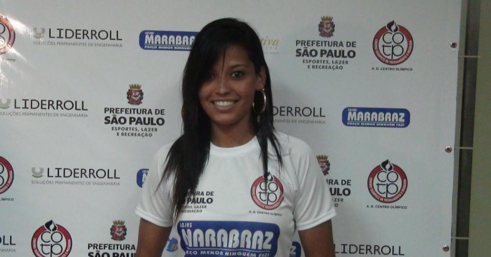 Calan é considerada umas das musas do futebol feminino no país