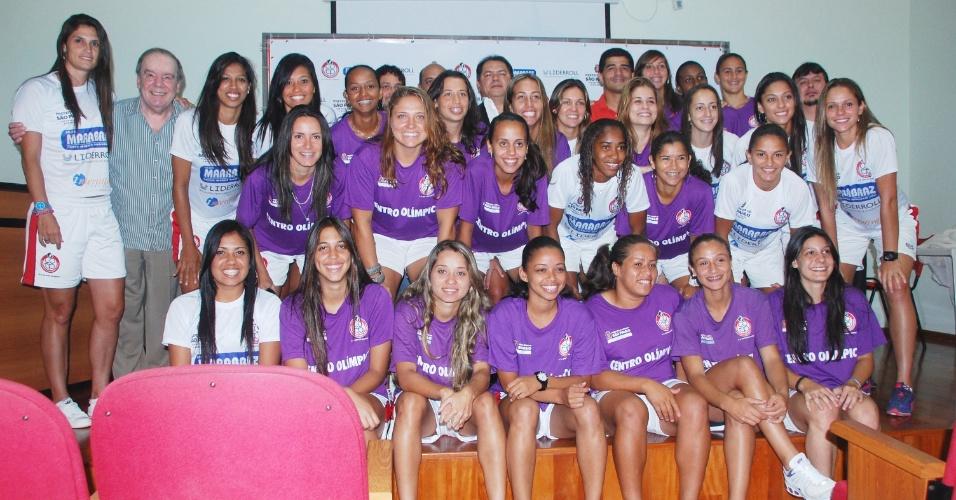 Centro Olímpico de Treinamento e Pesquisa (COTP) apresentou reforços para sua equipe profissional de futebol feminino