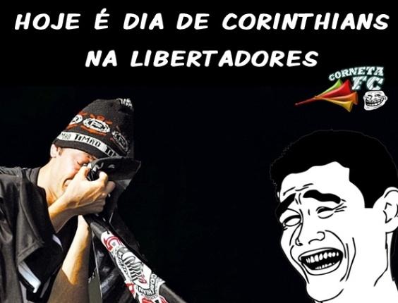 Corneta FC: Corinthians na Libertadores é a piada pronta do dia