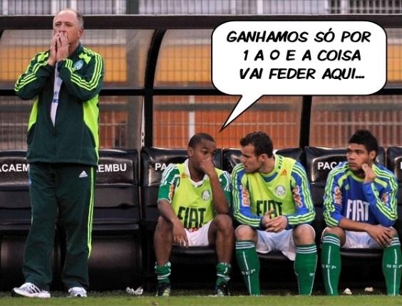Corneta FC: Após vitória magra, Felipão já sente cheiro de Asa no ar