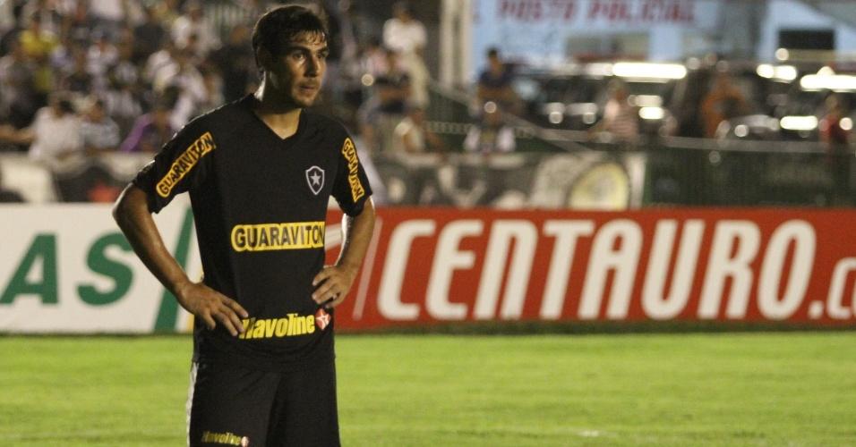 Herrera lamenta o empate do Botafogo com o Treze-PB