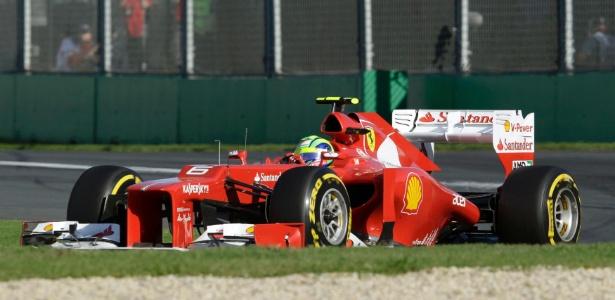 Massa reclamou do elevado desgaste dos pneus durante o GP da Austrália - Mark Horsburgh/Reuters