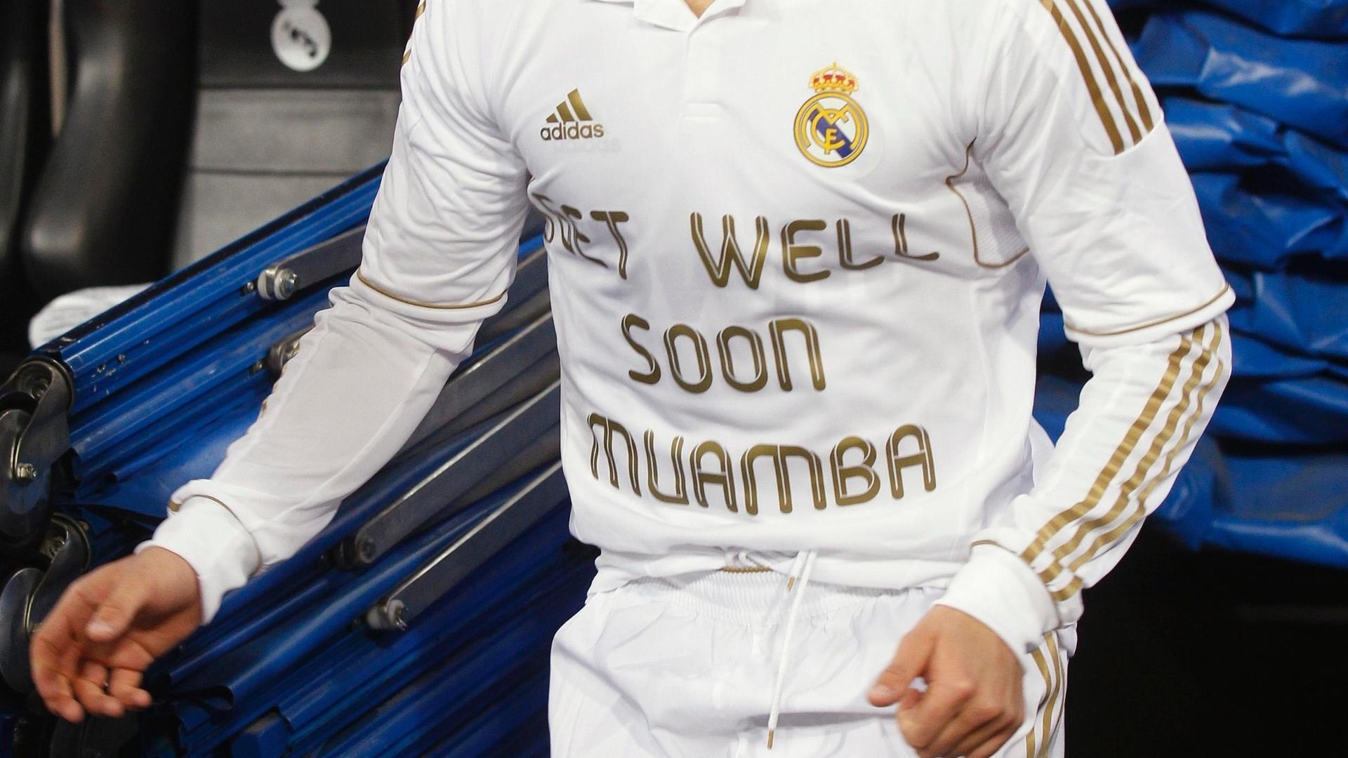 Cristiano Ronaldo, do Real Madrid, mandou recado de força para Muamba no duelo do último domingo contra o Malaga