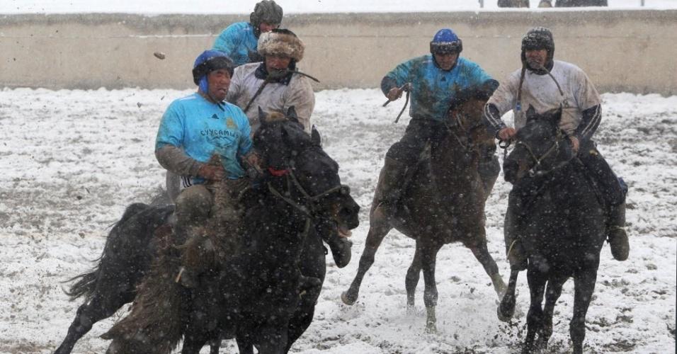 O esporte é praticado em países como Afeganistão, Quirguistão, Turcomenistão e Tadjiquistão