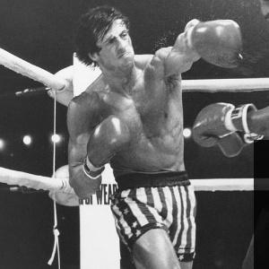 Sylvester Stallone, que deu vida ao boxeador Rocky Balboa
