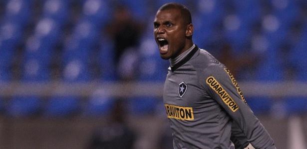 """Torcedores usarão essa foto de Jefferson para marcar goleiro no """"muro dos ídolos"""" - Fernando Soutello/AGIF"""