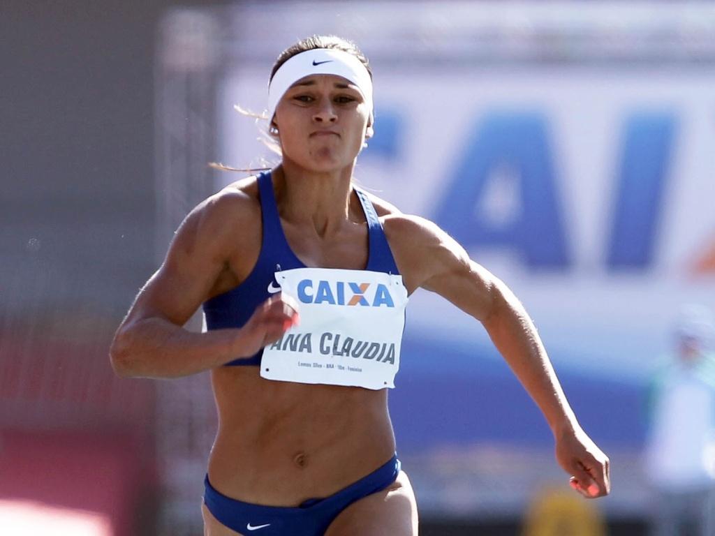 Ana Cláudia compete no GP São Paulo de atletismo (22/05/2011)