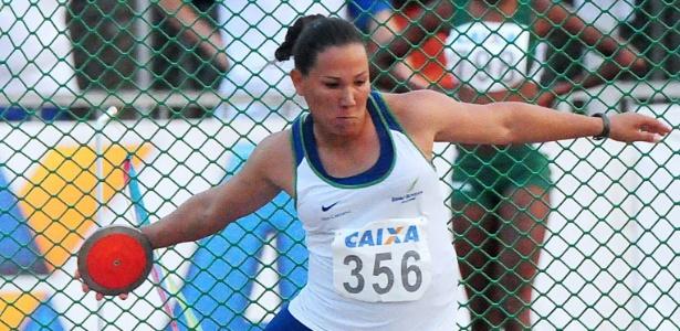 Fernanda Borges | Brasileira do lançamento do disco pega no doping é liberada para os Jogos