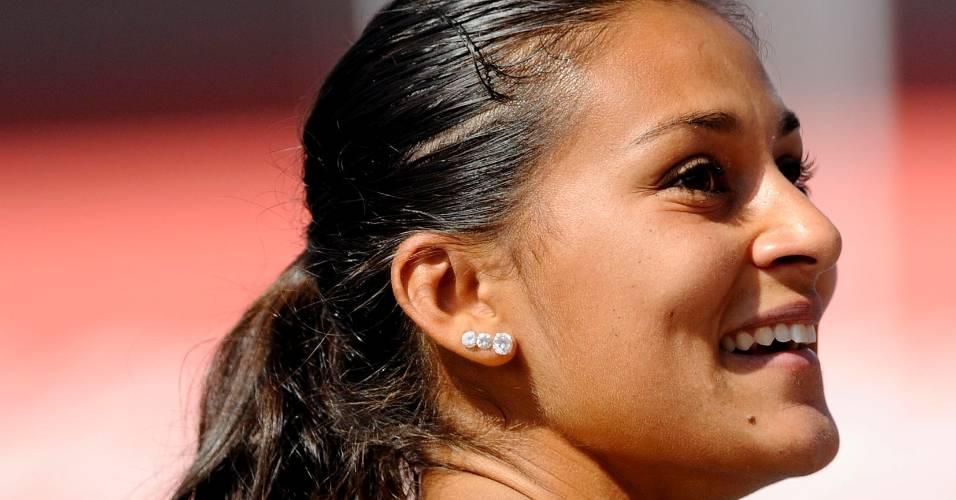 Ana Cláudia bateu recorde  sul-americano dos 200 m no Troféu Brasil (06/08/2011)