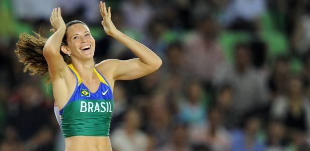 Fabiana Murer é uma das principais apostas de medalhas do Brasil na Olimpíada de Londres