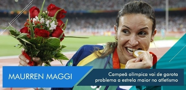Campeã olímpica vai de garota problema a estrela maior do atletismo