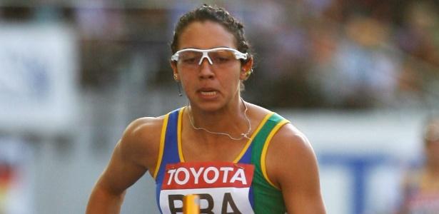 Vanda compunha a seleção brasileira de revezamento 4 x 100m - Andy Lyons/Getty Images