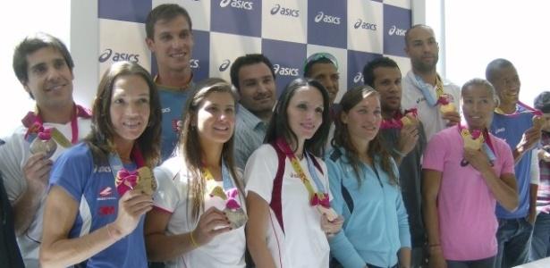 Medalhistas do Pan são homenageados em evento de patrocinador em São Paulo - Paula Almeida/UOL