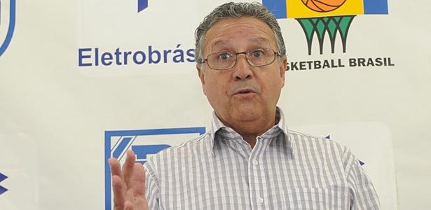 """Carlos Nunes, presidente da CBB, é o responsável pela atual gestão e a """"terceirização"""""""