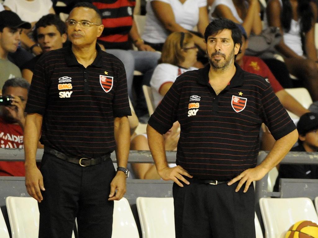 Gonzalo García, técnico do Flamengo