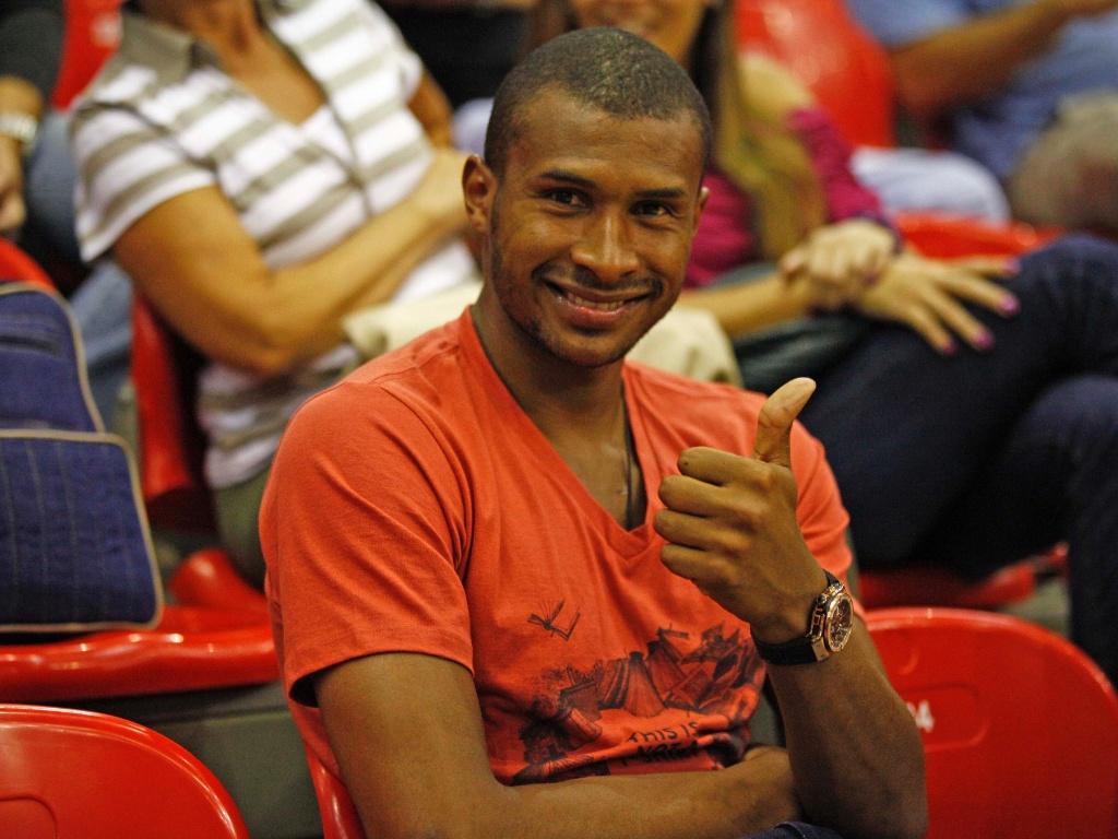 Leandrinho jogo entre Flamengo e Bauru pelo playoff do NBB