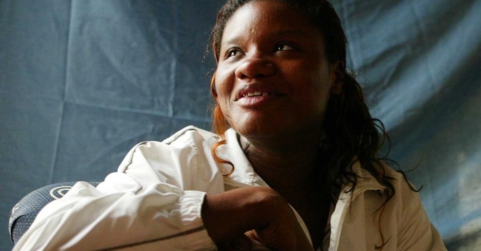 Silvia Gustavo, ala da seleção brasileira (Arquivo - 2005)