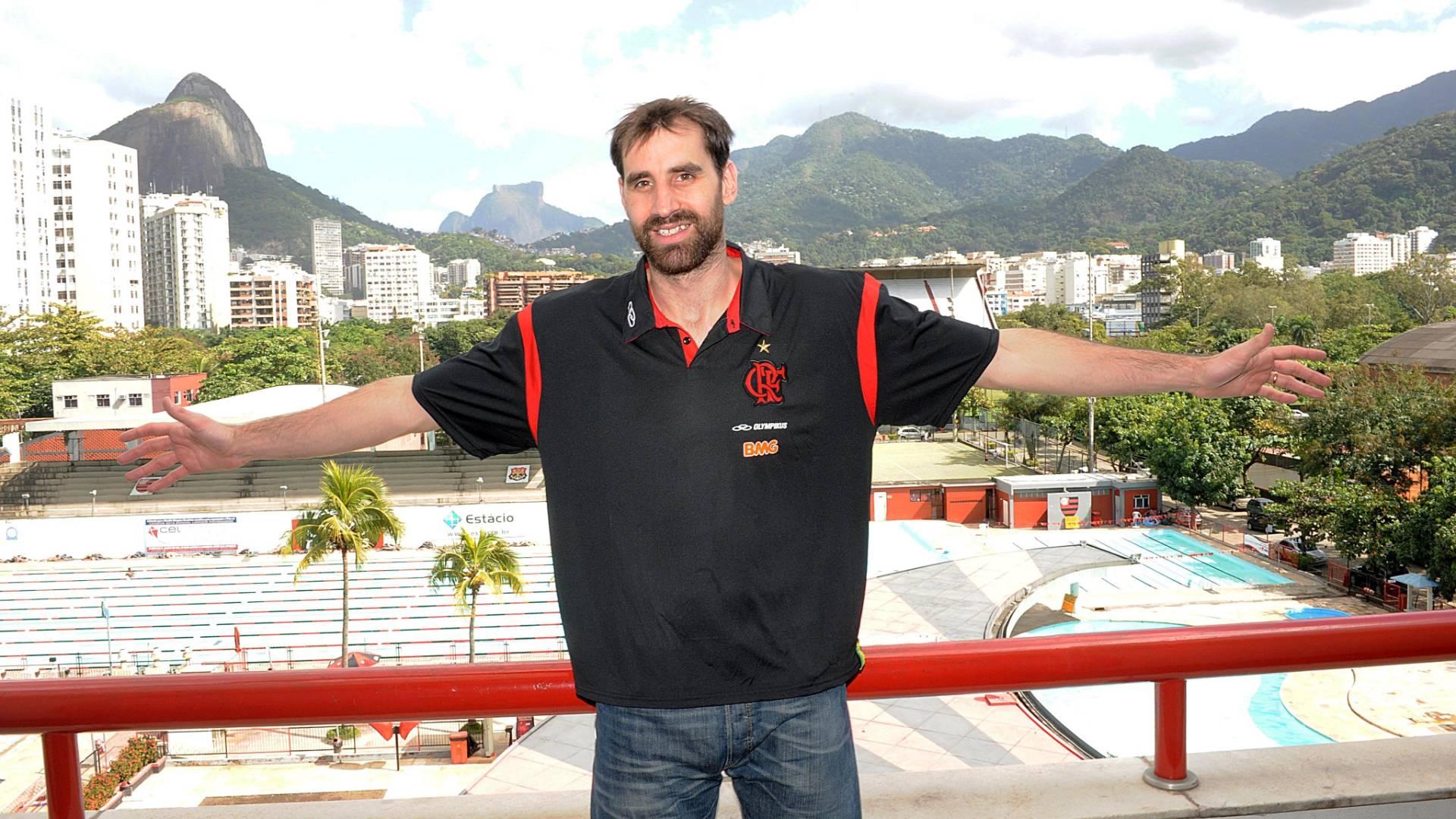 Argentino Federico Kammerichs é apresentado pelo Flamengo (25/07/11)