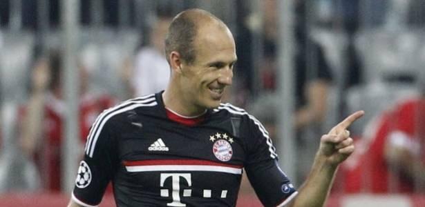 Robben decidiu a partida para o Bayern, que aplicou 2 a 0 sobre o Zurich