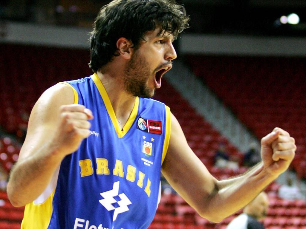Guilherme Giovannoni, em ação pelo Pré-Olímpico de 2007 (Arquivo)