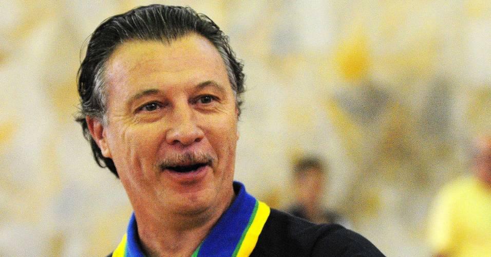 Rubén Magnano, técnico da seleção brasileira de basquete