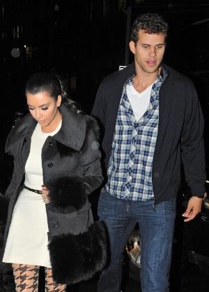 Kim Kardashian e Kris Humphries em foto de 2011, quando ainda estavam juntos