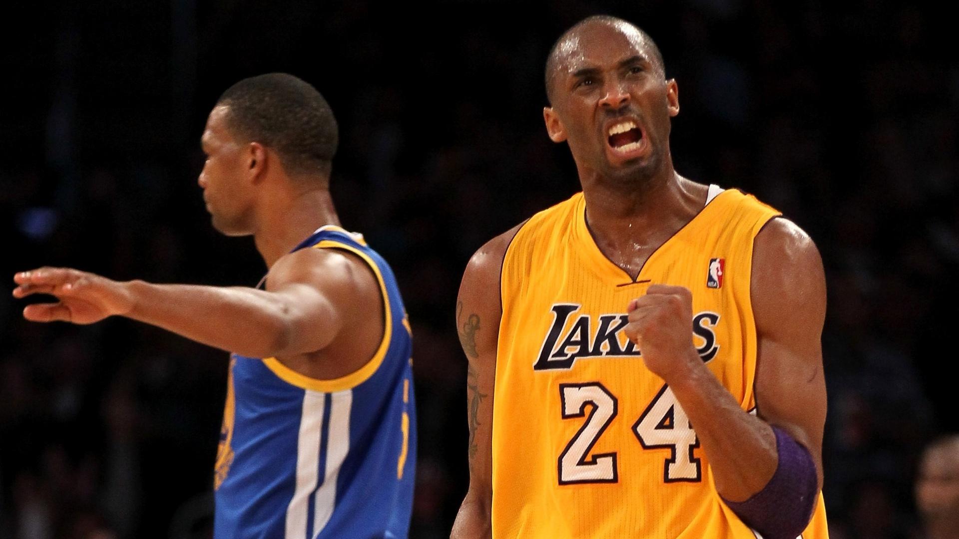 ff5171307 Kobe Bryant dá show e marca 39 pontos em vitória dos Lakers  Varejão brilha  pelos Cavs - 07 01 2012 - UOL Esporte