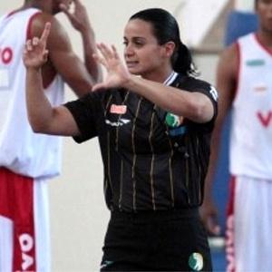 Andreia Regina, árbitra do NBB