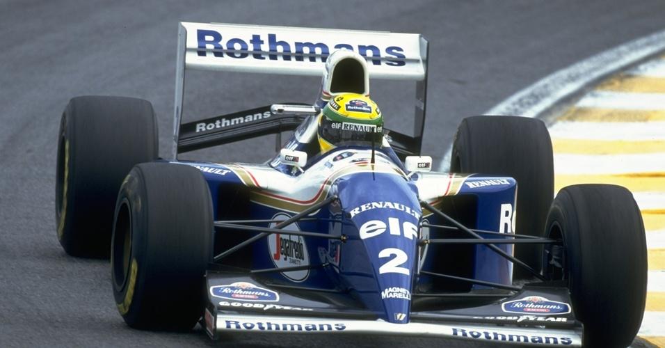 Ayrton Senna na Williams em 1994