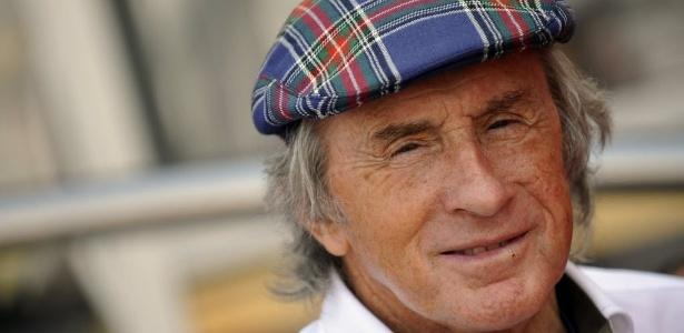 Jackie Stewart, lenda da Fórmula 1, em foto de 2011 - REUTERS/Giorgio Perottino