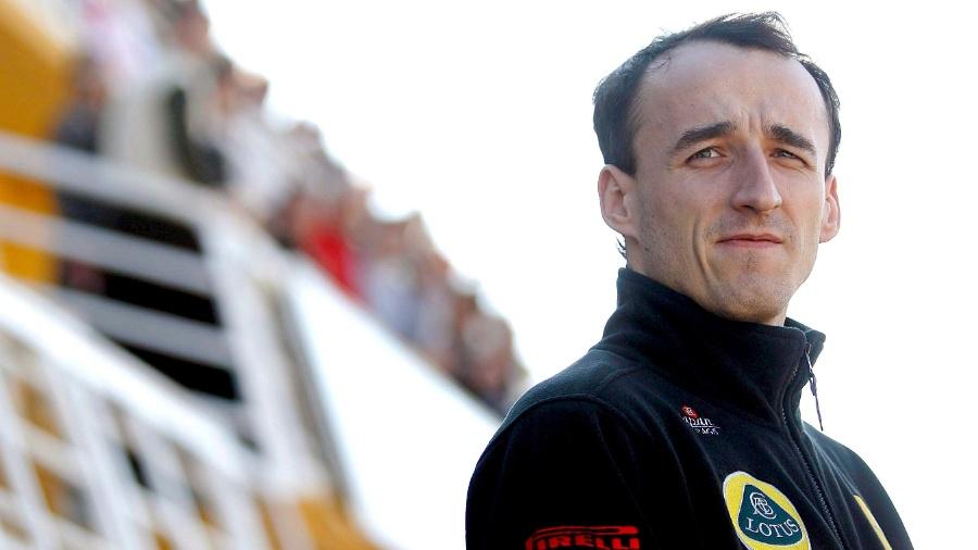 Robert Kubica corria pela Renault quando sofreu acidente em 2011 - Kai Foersterling/EFE