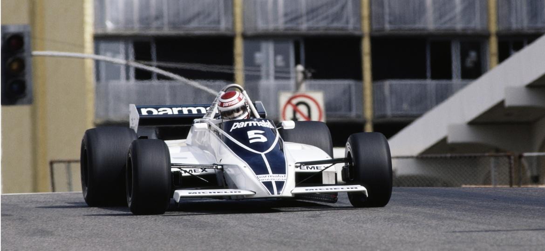 Nelson Piquet, da Brabham, ficou fora do GP de San Marino em 1982 em razão de um boicote de equipes - Don Morley/Getty Images