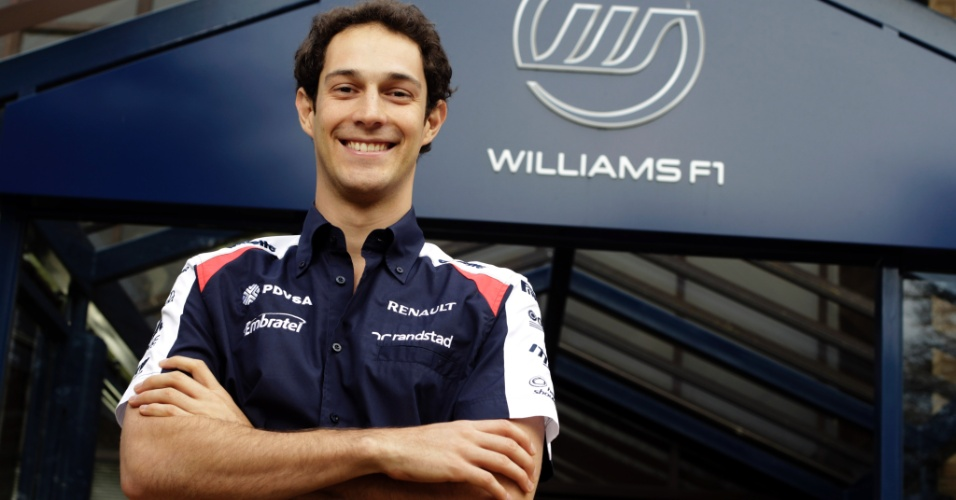 Primeira foto oficial de Bruno Senna como piloto da Williams para a temporada 2012 da Fórmula 1