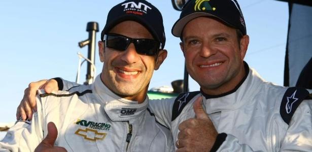 Kanaan convidou Barrichello para teste na KV que deu início às negociações