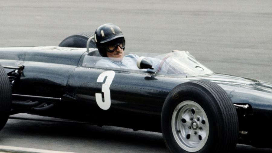 A BRM de Graham Hill em 1962 - Getty Images