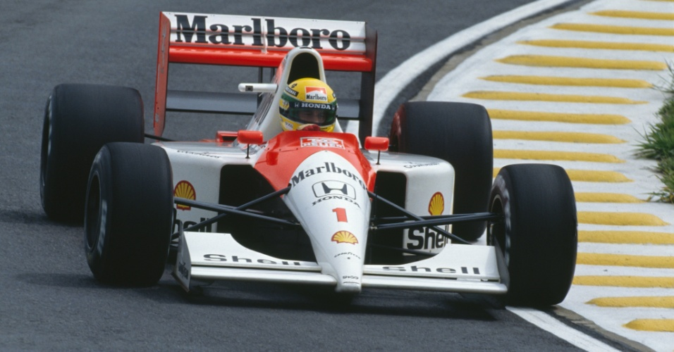A McLaren de Ayrton Senna em 1991