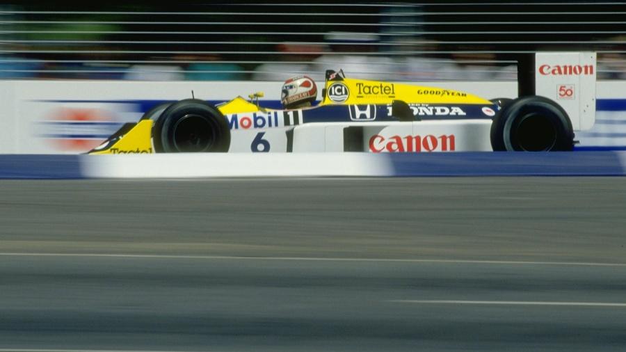 Equipe utilizou motores Honda em 1987, quando foi campeã com Nelson Piquet - Getty Images