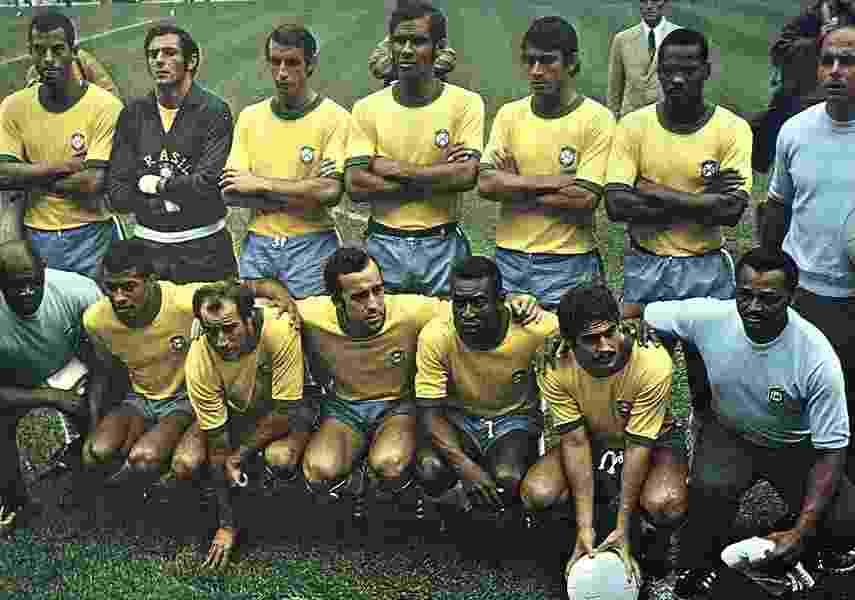Seleção de 1970 foi tricampeã da Copa do Mundo - CBF/Divulgação