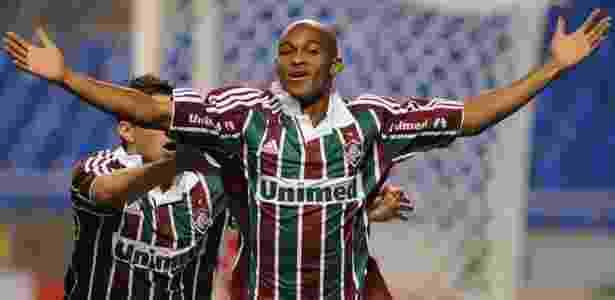 Atacante Tartá, em 2010, em ação pelo Fluminense na época da conquista do Brasileiro - Wallace Teixeira/Photocamera