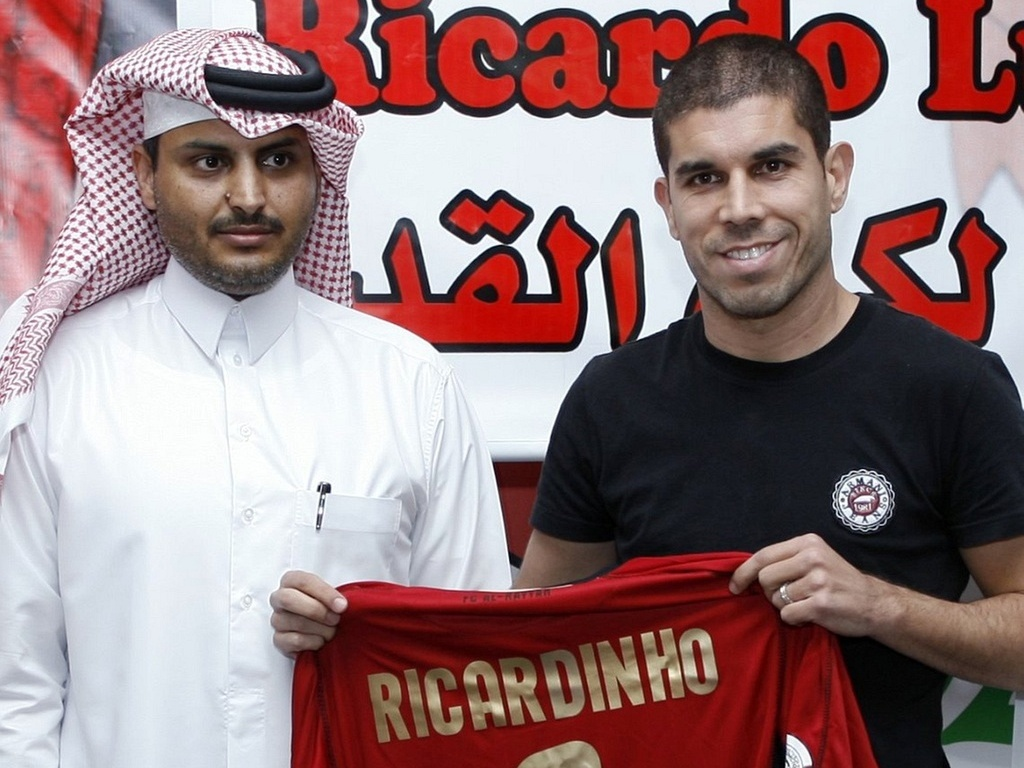 Ricardinho no futebol do Qatar