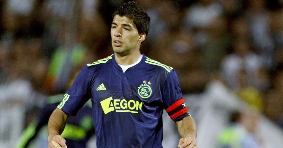 Luís Suárez, jogador do Ajax
